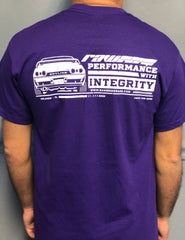Raw Brokerage Purple R32 GTR T-Shirt