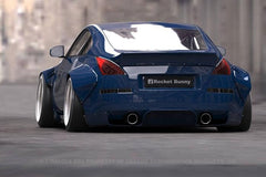 GReddy Rocket Bunny Duck-Tail Rear Wing Only [Ver. 2] - Nissan 350Z (Z33)