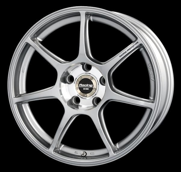 Enkei RS+M 17x8 35mm Offset 5x100 75mm Bore Silver Wheel