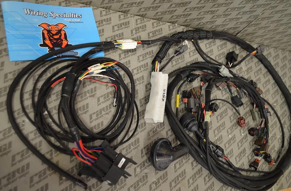 Wiring Specialties RB26DETT Into S14 240sx PRO SERIES Wiring Harness on