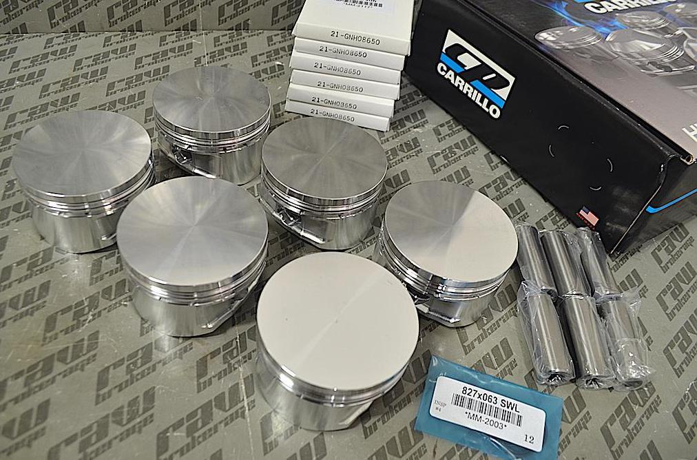 CP SC7303 Forged Pistons RB30DET (87.0mm)