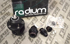 Radium Engineering FPD-XR Direct Mount 8AN ORB Fuel Pulse Damper Kit