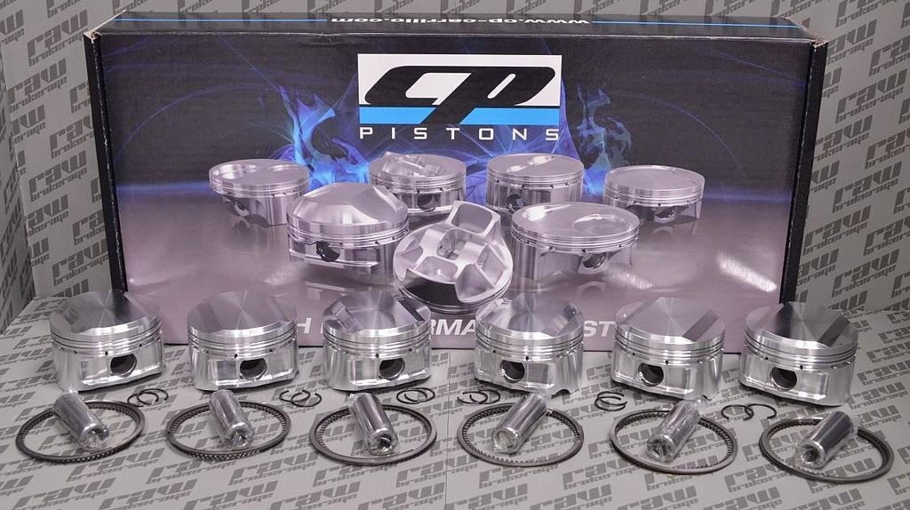 CP SC7306 Forged Pistons R33 RB25DET (87.0mm / 9.0:1)