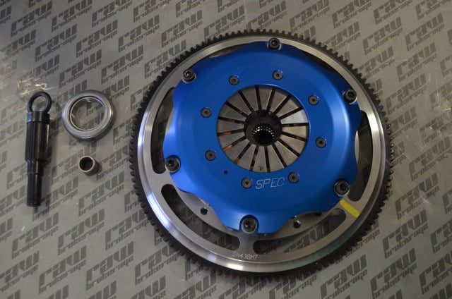 Spec Mini Twin Clutch - RB20 RB25 (Push Type)