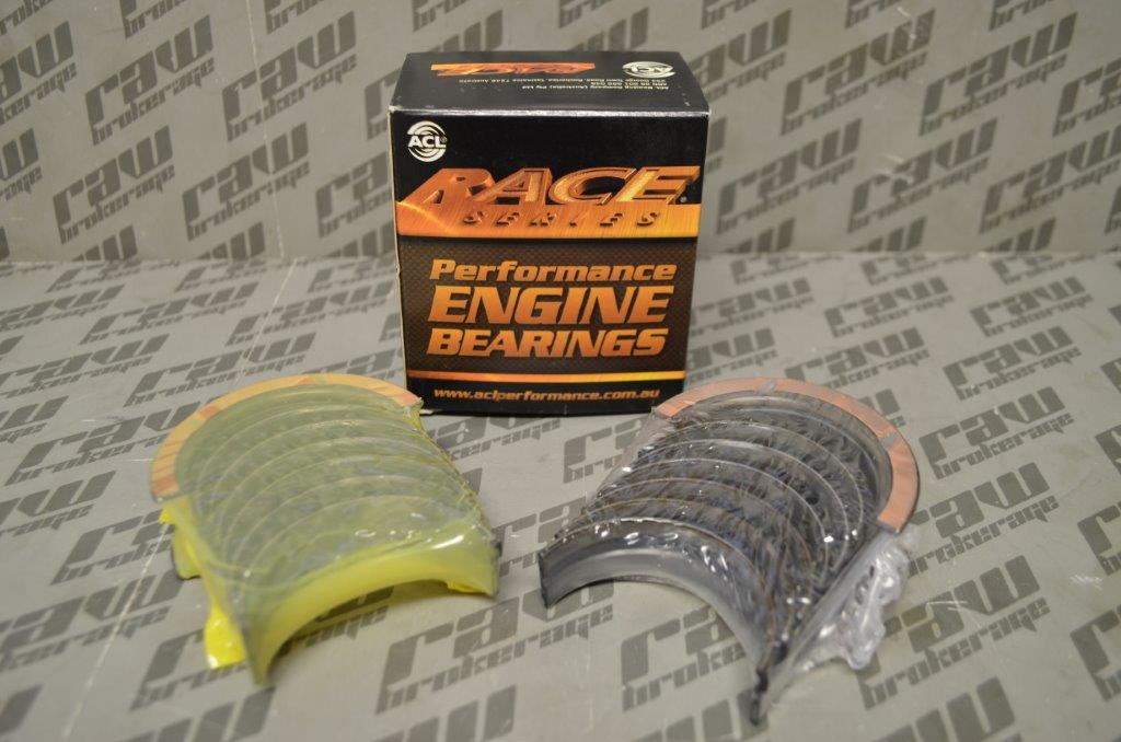 "ACL 7M2394HX-STD Race Series Main Bearing Set (+0.001"" Extra) - Nissan RB20 RB25 RB30"