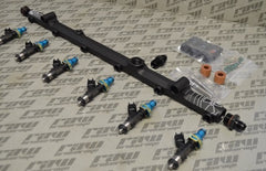 Radium Fuel Rail with Injector Dynamics Kit for Nissan RB26DETT