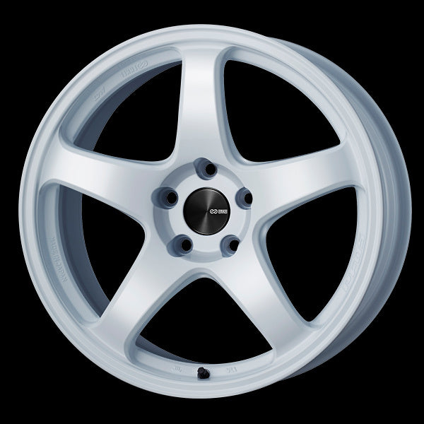 Enkei PF05 17x9 40mm Offset 5x114.3 75mm Bore White Wheel