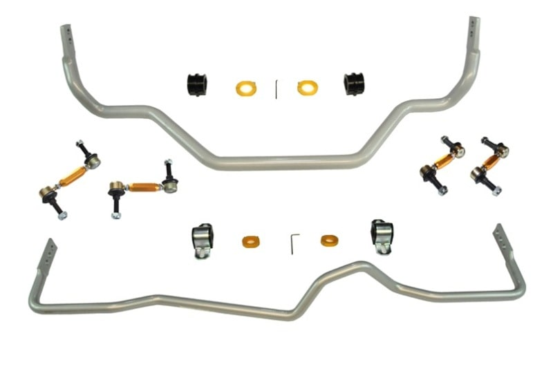 Whiteline Front & Rear Sway Bar Kit - Nissan 350Z (Z33)