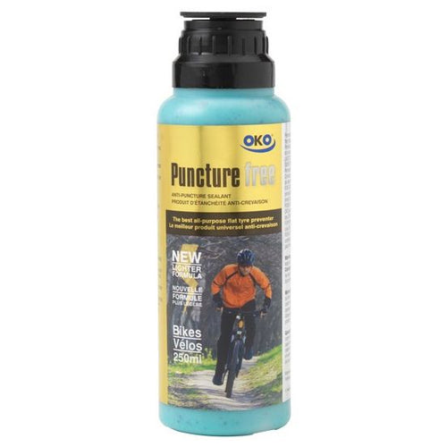 OKO PUNCTURE FREE BICYCLE SEALANT - 250ml