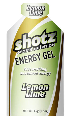 SHOTZ LEMONLIME ENERGY GEL