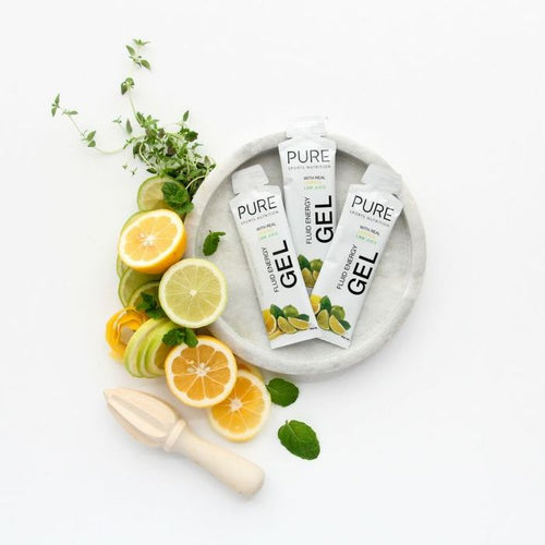 PURE FLUID ENERGY GEL 50G LEMON LIME +CA