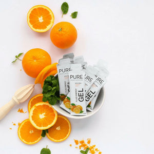 PURE FLUID ENERGY GEL ORANGE
