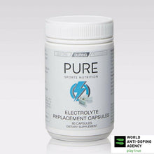 Load image into Gallery viewer, PURE ELECTROLYTE REPLACEMENT CAPSULES 80