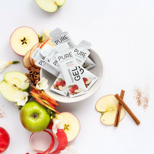 PURE FLUID ENERGY GEL APPLE CINNAMON
