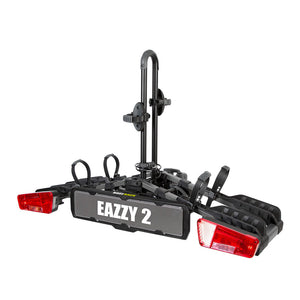 EAZZY 2 BIKE BALL MOUNT FOLD PLATFORM RACK