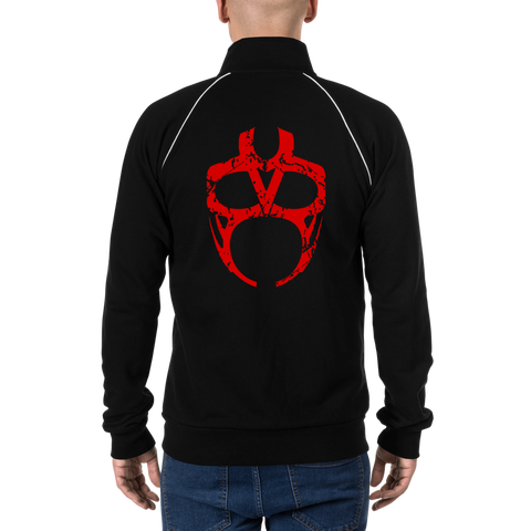 Vader Mask Fleece Jacket [Red]