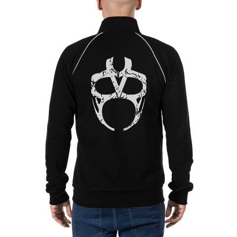 Vader Mask Fleece Jacket [White]