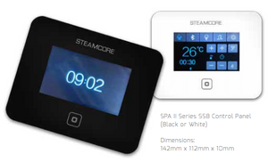 STEAM Control Panels  (keypad only) - Better Health Saunas