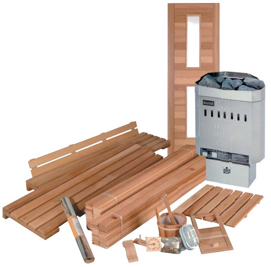 Traditional Standard Kits - Better Health Saunas