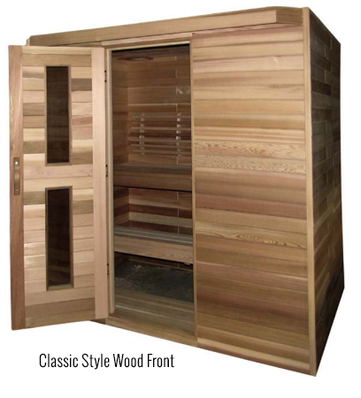 Traditional Modular Series - Better Health Saunas