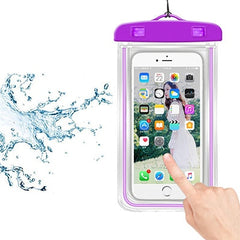 Waterproof Phone Pouch Drift Diving Swimming Bag Underwater Dry Bag Case Cover For Phone Water Sports Beach Pool Skiing 6 inch