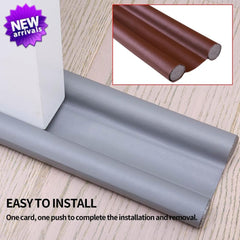 Door Bottom Sealing Strip Under Door Draft Stopper Home Dorm Bedroom Sound Proof Noise Reduction Door EVA Draft Stopper