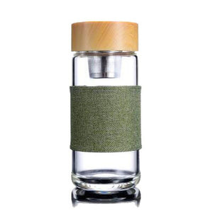 Glass Tumbler With Infuser