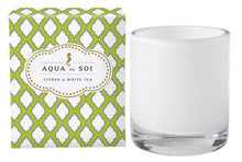 Load image into Gallery viewer, Aqua De Soi Citrus and White Tea Candle