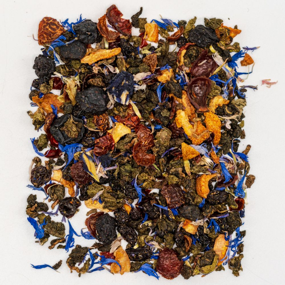 Blue Butterfly Oolong Tea