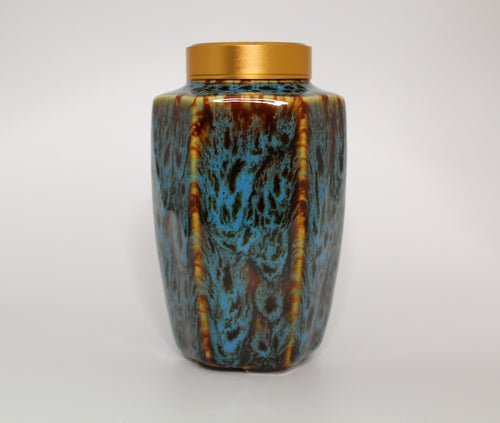 Tall Chinese Tea Caddy