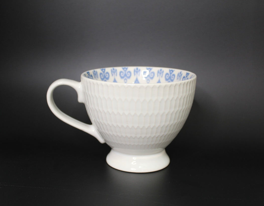 Oversized Ceramic Mug White