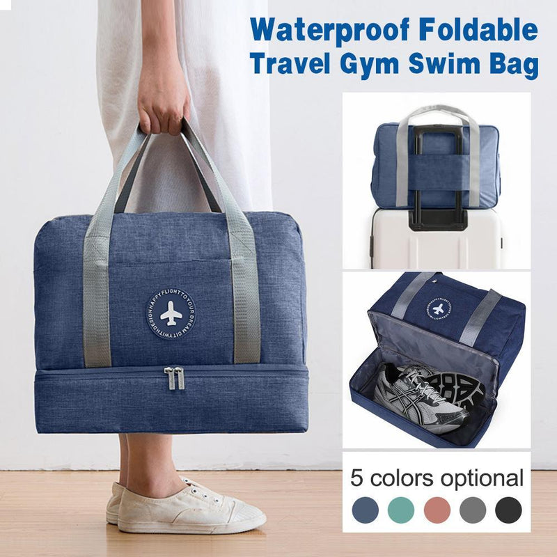 Waterproof Foldable Travel Gym Swim Bag