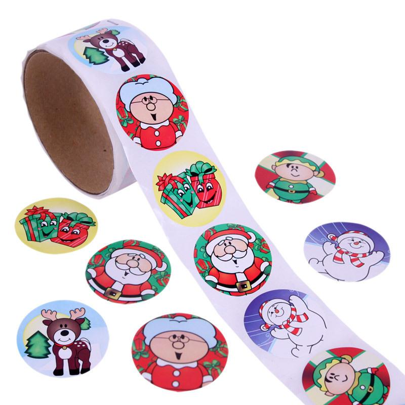 Christmas Gift Wrapping & Decoration Stickers