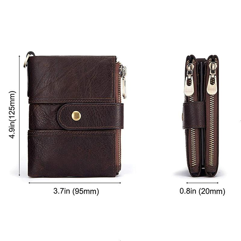 Anti-magnetic Tassel Leather Card Case Coin Purse