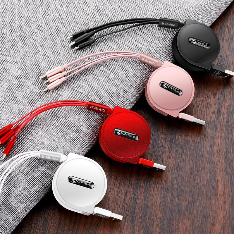 Multi-function 3 in 1 USB Charging Cable