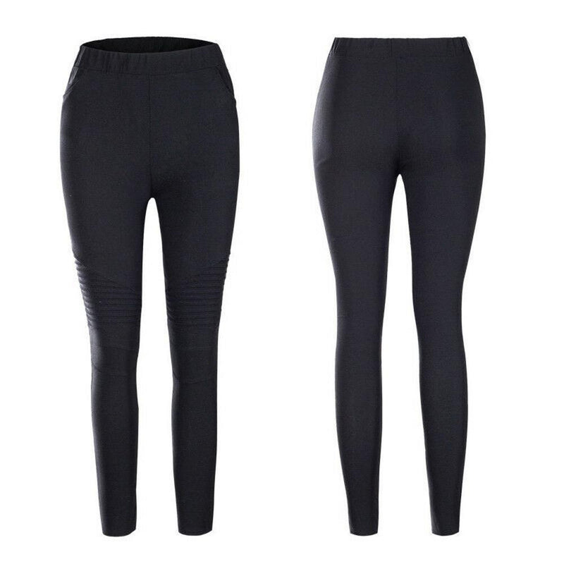 Elastic Cotton Slimming & Shaping Pants