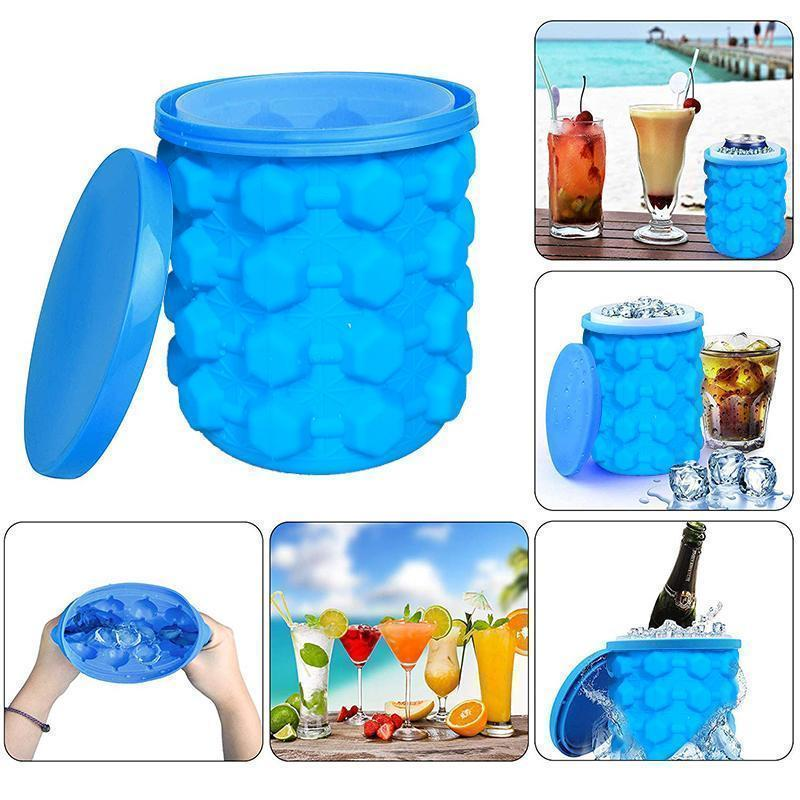 Improved Ice Bucket, Bequee Genie Ice Cube