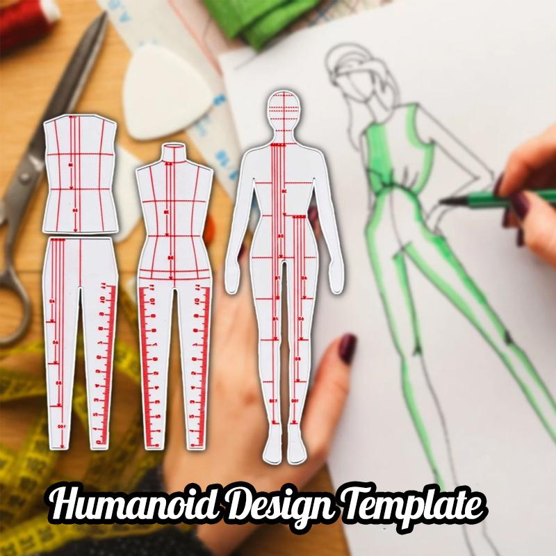 Humanoid Design Template (Set)