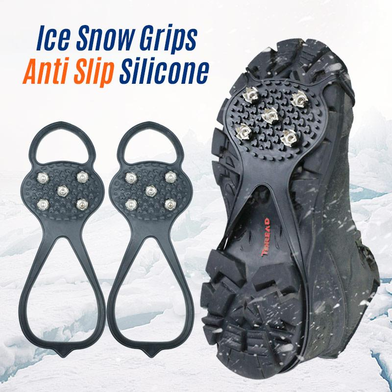Traction Cleats Ice Snow Grips Anti Slip Silicone