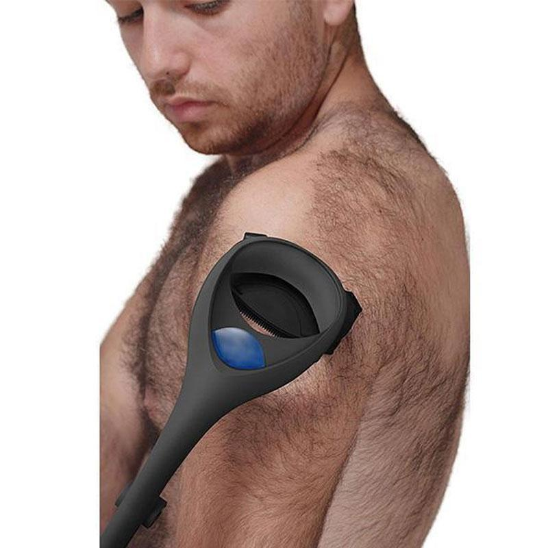 Two-Headed Blade Back Hair Shaver