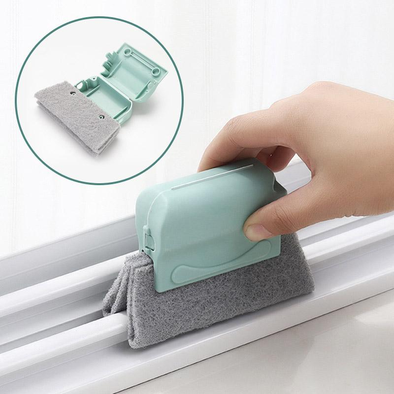 Magic Door Window Groove Cleaning Brushes