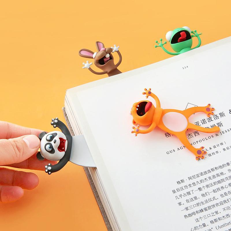 3D Animal Bookmarks