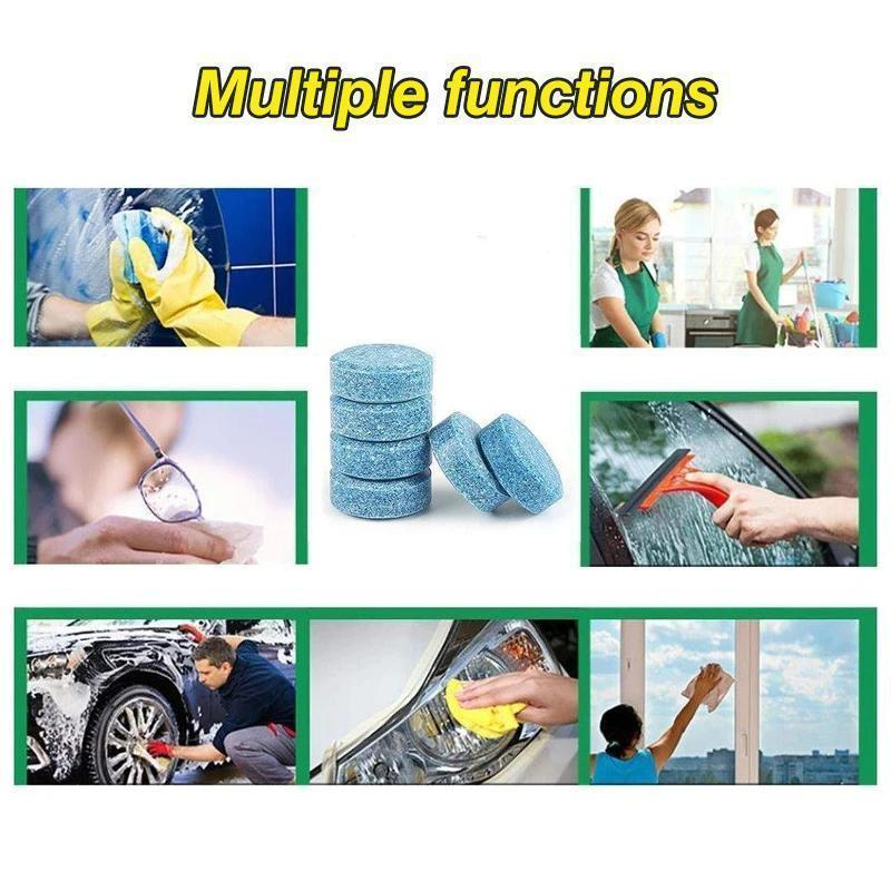 Automobile Glass Cleaning Sheet