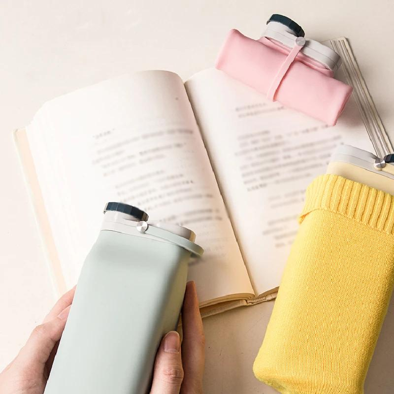 Silicone Collapsible Water Bottle(Without bottle cover)
