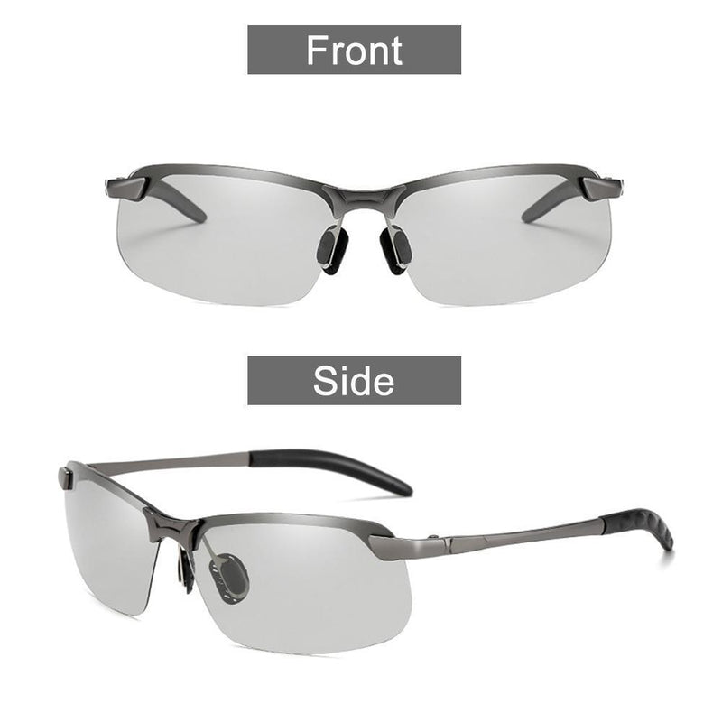 Polarized color changing sunglasses