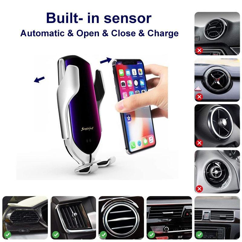 Robotic Arm Wireless Car Charger
