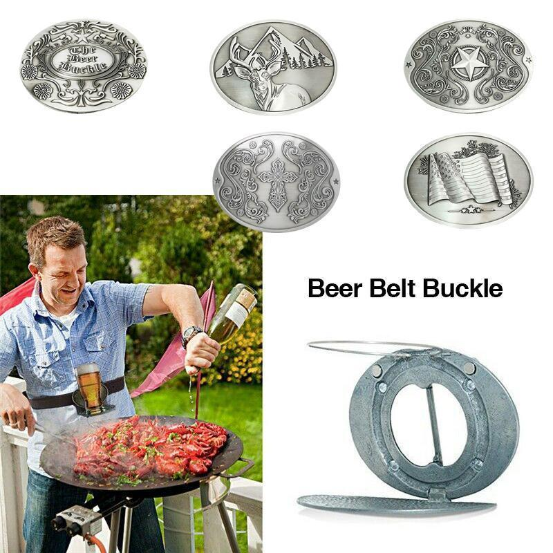 Magoloft™ Creative Beer Belt Buckle