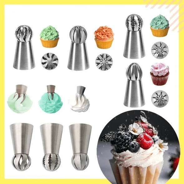 Cake Baking Decor Tool Set