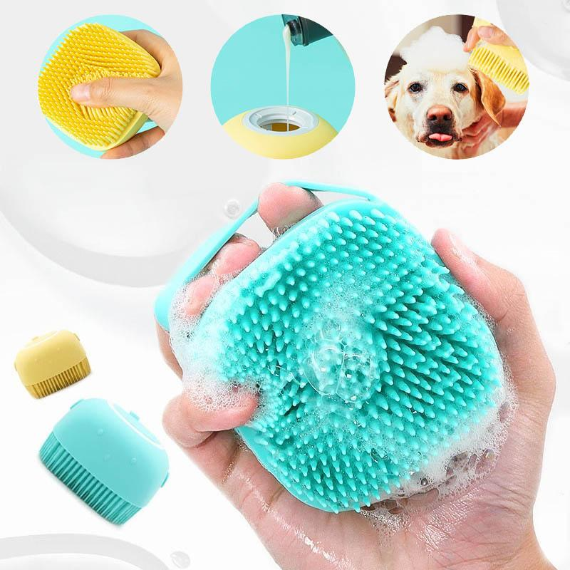 Pet Silicone Bath Brush