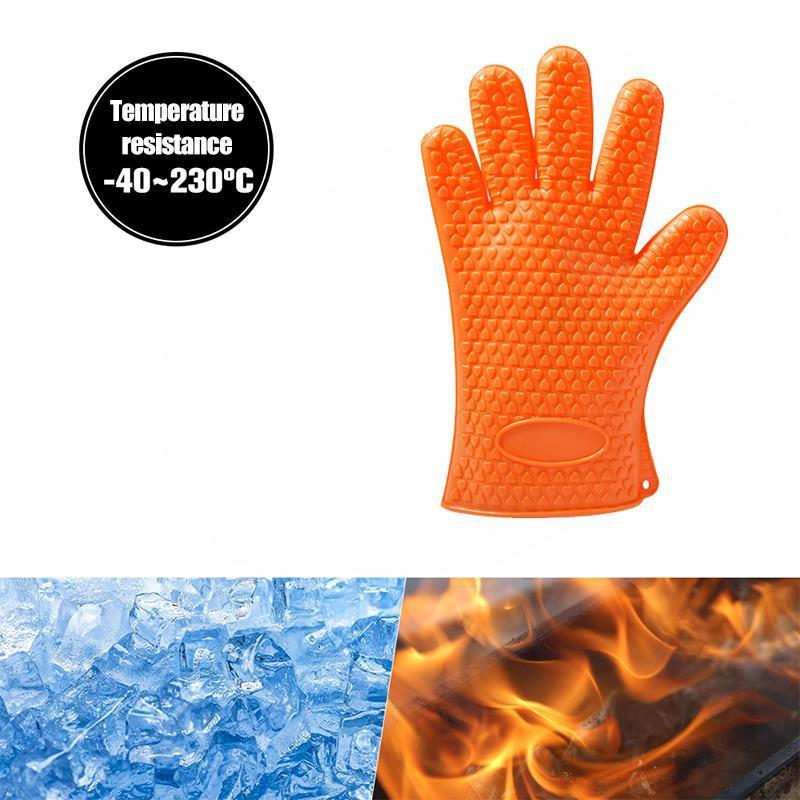 Heat-resistant Silicone Gloves